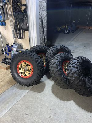 2019 Can am X3 XRS wheels set and spare for Sale in Pico Rivera, CA