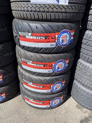 225/45R17 SET OF 4 FEDERAL RS-RR TIRES ON SALE for Sale in Lafayette, CA