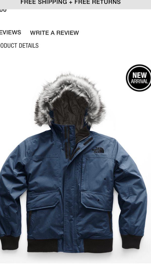 Kids NorthFace bomber jacket Small size 7/8