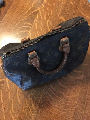 Vintage Bag Authentic Speedy 30 Zipper works but missing Tab for Sale in Orange, CA