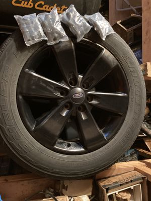 2013 F150 FX4 rims and tires for Sale in Hammonton, NJ