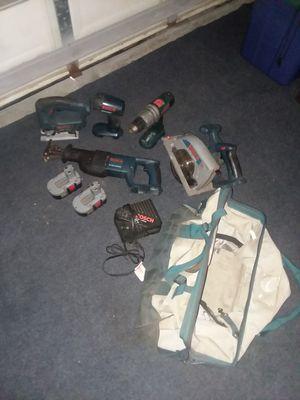 """5 piece """"Bosch"""" power tool set for Sale in Weeki Wachee, FL"""