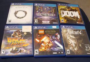 PS4 GAME BUNDLE ALL FOR $40 OR $10 EACH for Sale in Henderson, NV