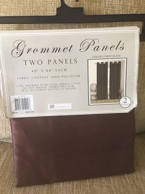 New 2 grommets panels $8 for Sale in Stockton, CA