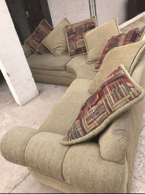 Sectional couch round for Sale in Phoenix, AZ