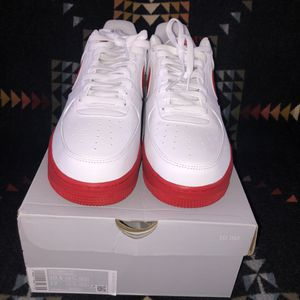 Nike Af1 red/white for Sale in Spokane, WA