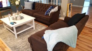 Brown couch set for Sale in Silver Spring, MD