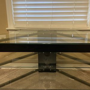 Glass TV Stand for Sale in Cary, NC