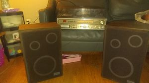 Vintage Zenith system (turntable/cassette/Btrack/am/fm radio ) +speakers for Sale in Lorain, OH