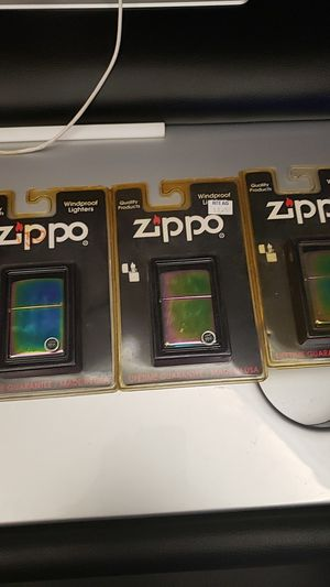 ZIPPO WINDPROOF LIGHTERS for Sale in Spring Hill, FL
