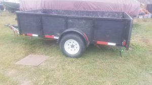 10ft Heavy Duty Trailer 3500lb axle for Sale in Denton, TX