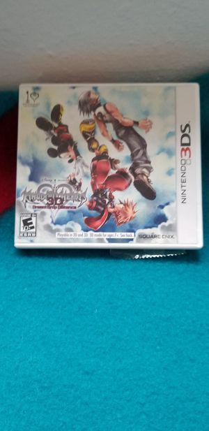 Kingdom Hearts Dream Drop Distance for Nintendo 3DS Complete in Box for Sale in Lake Oswego, OR