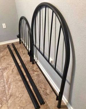 Antique Twin Metal Bed Frame for Sale in Springtown, TX