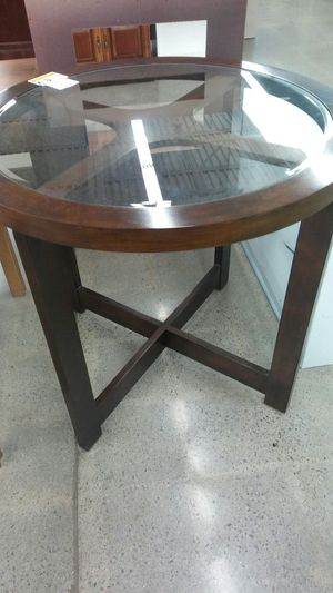 Glass/wood dining table for Sale in Nashville, TN