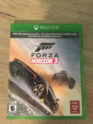 Forza Horizon 3 Xbox One game for Sale in Tumwater, WA