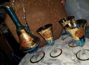 Decantur and glasses for Sale in Roanoke, VA