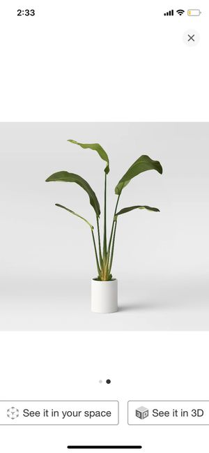 Artificial Banana Tree in Pot Green (Project 62) for Sale in South Gate, CA