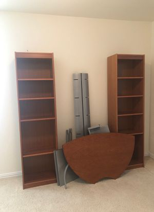 Two good quality bookshelves for Sale in Larkspur, CO
