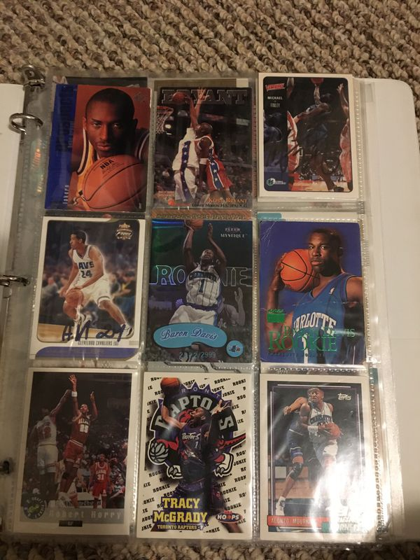 Various rookie cards
