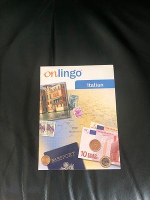 On lingo Italian language learning software for Sale in Hayward, CA