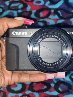 Canon PowerShot G7X Mark ll for Sale in Colorado Springs,  CO