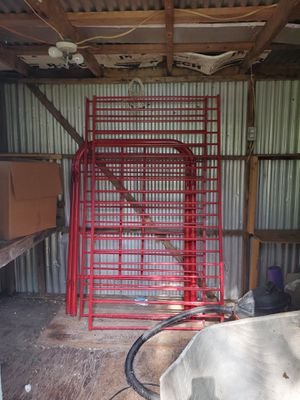Red bunk bed set for Sale in Plant City, FL