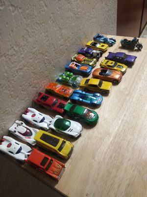 21 pc toy cars for Sale in Long Beach, CA