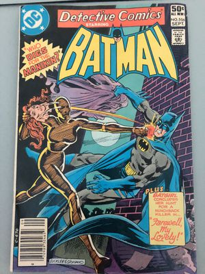 DETECTIVE COMICS ft: BATMAN & ROBIN #506 Manikin (1st app and origin) : Who Dies for the Manikan for Sale in Upland, CA
