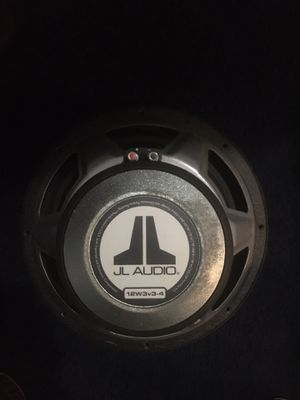 "1x JL Audio 12W3v3-4 Subwoofer - 12"" - 4 Ohm for Sale in Hawthorne, CA"