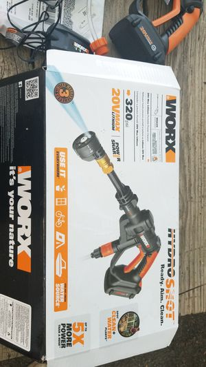 Worx Hydro Shot. $50 for Sale in Cleveland, OH