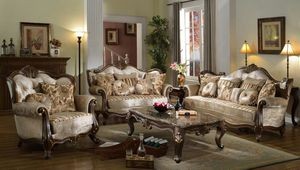 NEW Luxury Silk Fabric Living Set for Sale in Corona, CA