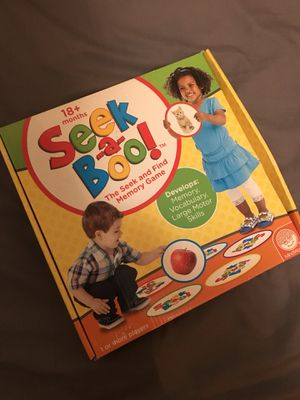 Seek a boo learning / educational activity toy for Sale in Cooper City, FL