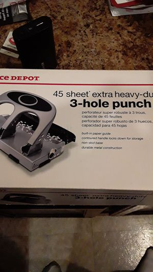 New in box 3 hole punch for Sale in undefined