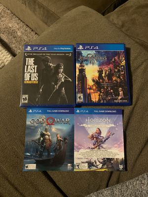 PS4 games for Sale in Keller, TX