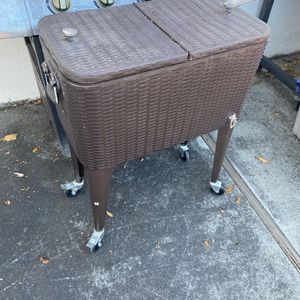 Outdoor Drink Holder Cart Stand for Sale in Sunnyvale, CA