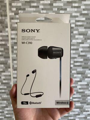 Sony wireless in ear headphones WIC310 for Sale in Upland, CA