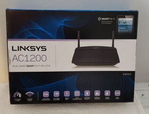 Linksys AC 1200 dual band smart wifi router for Sale in Lakeland, FL