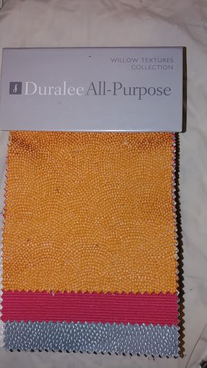 Fabric Sample Book: Duralee All-Purpose Willow Textures Collection. Book #2986 for Sale in Seattle, WA