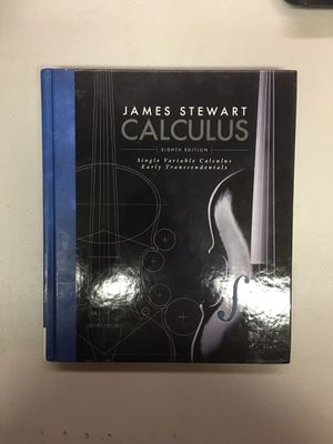 Calculus : Early Transcendentals by James Stewart 8th edition for Sale in Burlingame, CA