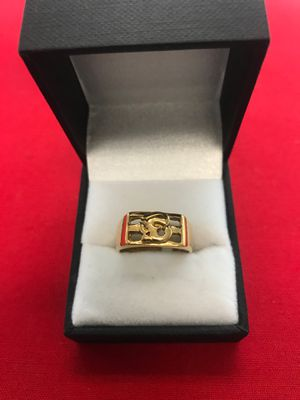 "22k gold ""E"" initial ring 2910-24344O-01 for Sale in Phoenix, AZ"