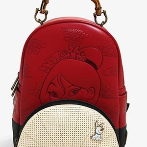 Loungefly Disney Mulan Fan Pin Collector Mini Backpack for Sale in Rosemead, CA