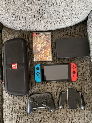 Nintendo Switch || 120 Gb ssd || 2 games for Sale in Las Vegas, NV