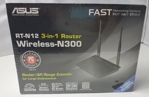New factory sealed Asus RT-N12/D1 Wireless-N300 Router for Sale in Mesa, AZ