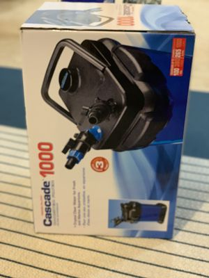 Aquarium 100g canister filter for Sale in Newfield, NJ