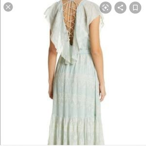 Love Sam Embroidered Mint Green Dress (NWT) for Sale in Morgan Hill, CA
