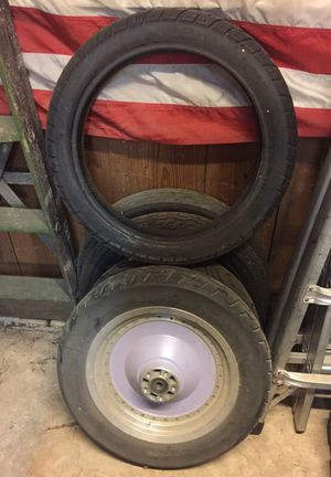 Motorcycle tires and rim for Sale in Austin, TX