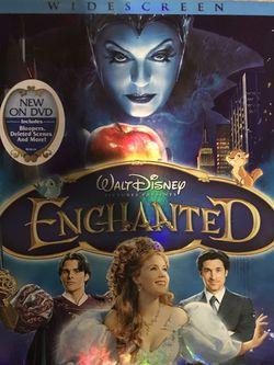 Walt Disney Enchanted Dvd Movie for Sale in Elma,  WA