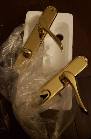 Pella patio door handles brass - $160 for Sale in Charlotte, NC
