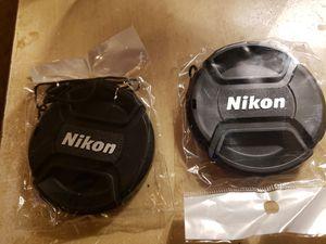 2 Nikon caps 58mm for Sale in Montgomery, AL