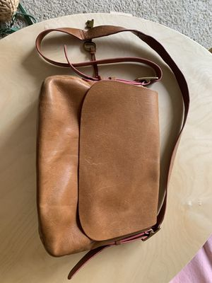 Fossil leather satchel bag for Sale in Campbell, CA